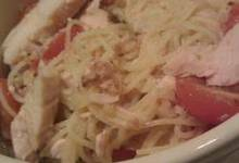 Chicken and Tomato Angel Hair