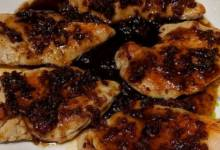 chicken breast with sage and balsamic vinegar