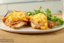 Chicken Cordon Blue Mac & Cheese