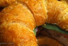 Chicken Curry Croissants