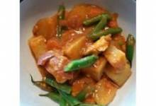 Chicken Navratan Curry (ndian)