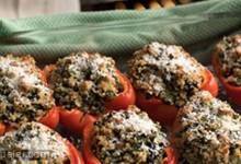 Chicken & Quinoa Stuffed Peppers