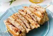 Chicken Sausage & Hash Brown Breakfast Grilled Cheese