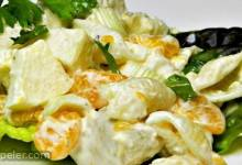 Chicken Seashell Salad