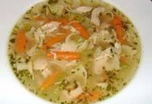 Chicken Soup with Drop-n Noodles