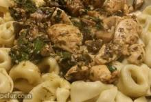 Chicken Spinach Pesto Pasta