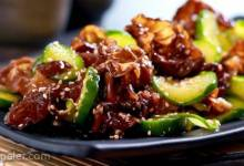 Chilled Cucumber and Wood Ear Mushroom Salad
