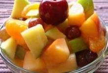 chloe's quick fruit salad