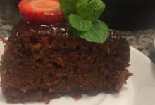 chocolate cake in the nstant pot®