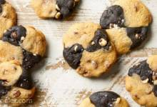 Chocolate Chip Crisscross Cookies