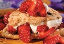 Chocolate Chip Strawberry Shortcake