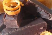 Chocolate Orange Fudge