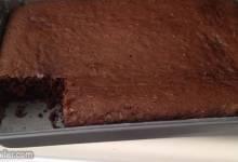 chocolate zucchini cake v