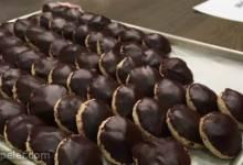 Chokladbiskvier (Swedish Chocolate Meringue Cookies)