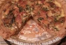 Cindy's Tuna, Spinach, and Bacon Quiche