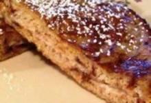 Cinnamon Raisin Stuffed French Toast