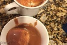 cioccolata calda (hot chocolate talian-style)