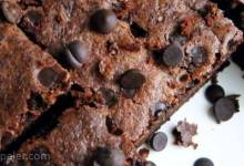 Coconut Flour Chocolate Brownies