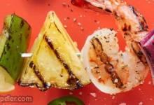 Coconut Shrimp Kabobs