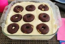 coffee and doughnuts cebox cake