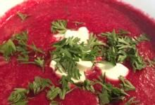 cold russian borscht