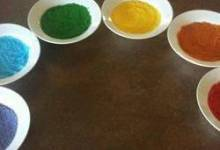 colored sugar