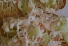 cool crabmeat salad
