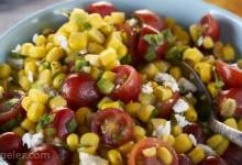 Corn & Cherry Tomato Salad