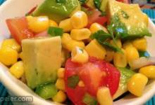 Corn Salad with Lime Vinaigrette