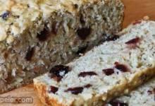 Cranberry Banana Oat Bread