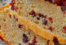 Cranberry Orange Tea Bread
