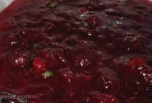 Cranberry Sauce with Jalapeno Peppers