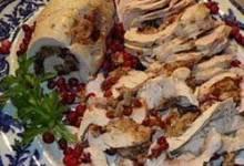 Cranberry Stuffed Turkey Breasts