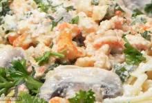crawfish linguine