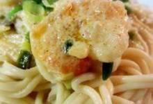 crayfish or shrimp pasta