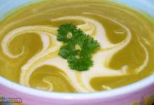 creamed broccoli soup
