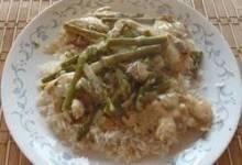Creamy Chicken Asparagus Casserole