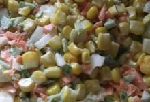 creamy corn slaw
