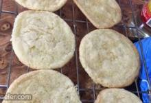 Creamy Lemon Sugar Cookies