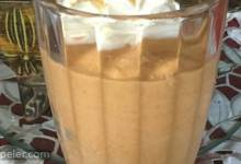 Creamy Pumpkin Pie Smoothie Shake
