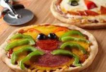 Creepy Mini Pizzas
