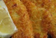 crispy fish fillets