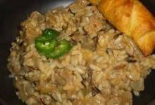 Cubed Steak and Wild Rice