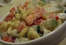 Cucumber and Dill Pasta Salad