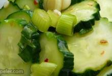 Cucumber Salad With Thai Sweet Chili Vinaigrette