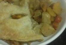 Curry Root Vegetable Pot Pie