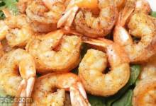 Deep-Fried Salt and Pepper Shrimp