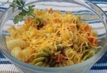 Delish Lime and Corn Pasta Salad