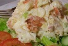 dennie's fresh lobster salad
