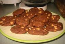 Devil's Food Peanut Butter Chip Cookies